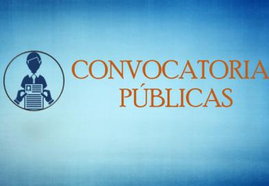 CONVOCATORIAS PÚBLICAS