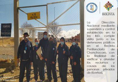 Visita al centro Penitenciario de Chonchocoro